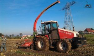 tracteur Steyr 9320