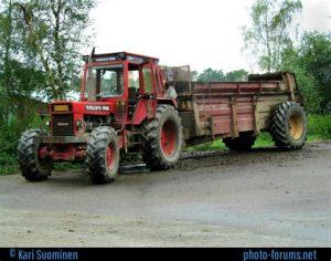 tracteur Volvo 2654