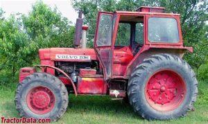 tracteur Volvo T814