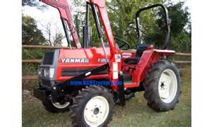tracteur Yanmar F20D