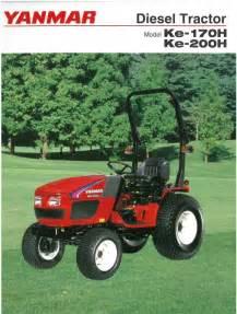 tracteur Yanmar KE-170H