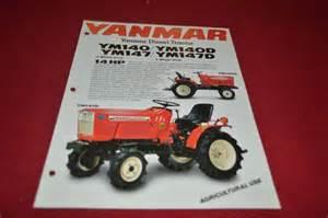 tracteur Yanmar YM147