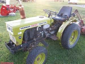 tracteur Yanmar YM155