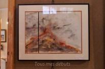 L'une des aquarelles de Mme Michèle Neveux - avec son aimable autorisation