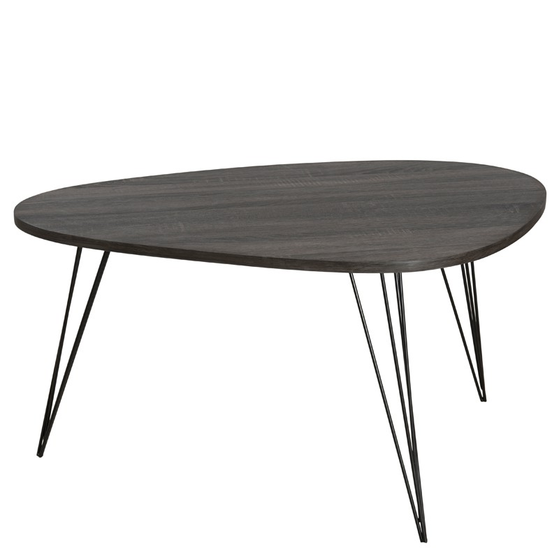 Table Basse Noir Table Basse Carr E Laqu E Noir Kare