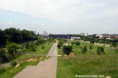Parc de la Seille à Metz promontoire 3