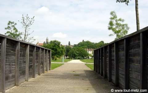 Parc de la Seille à Metz acces 1