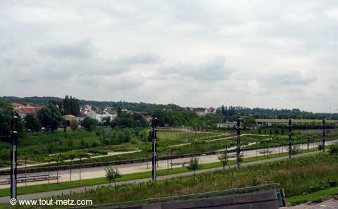 Parc de la Seille à Metz promontoire 6