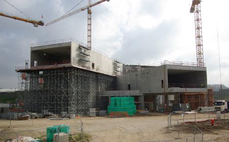 Centre pompidou metz chantier septembre 2008 tout metz for Adresse metz expo