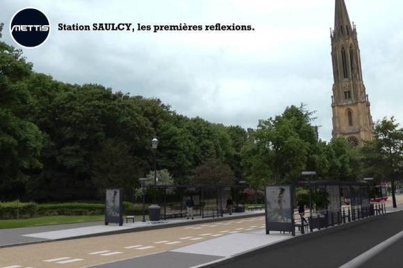 station Saulcy