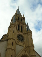 L'église de Woippy