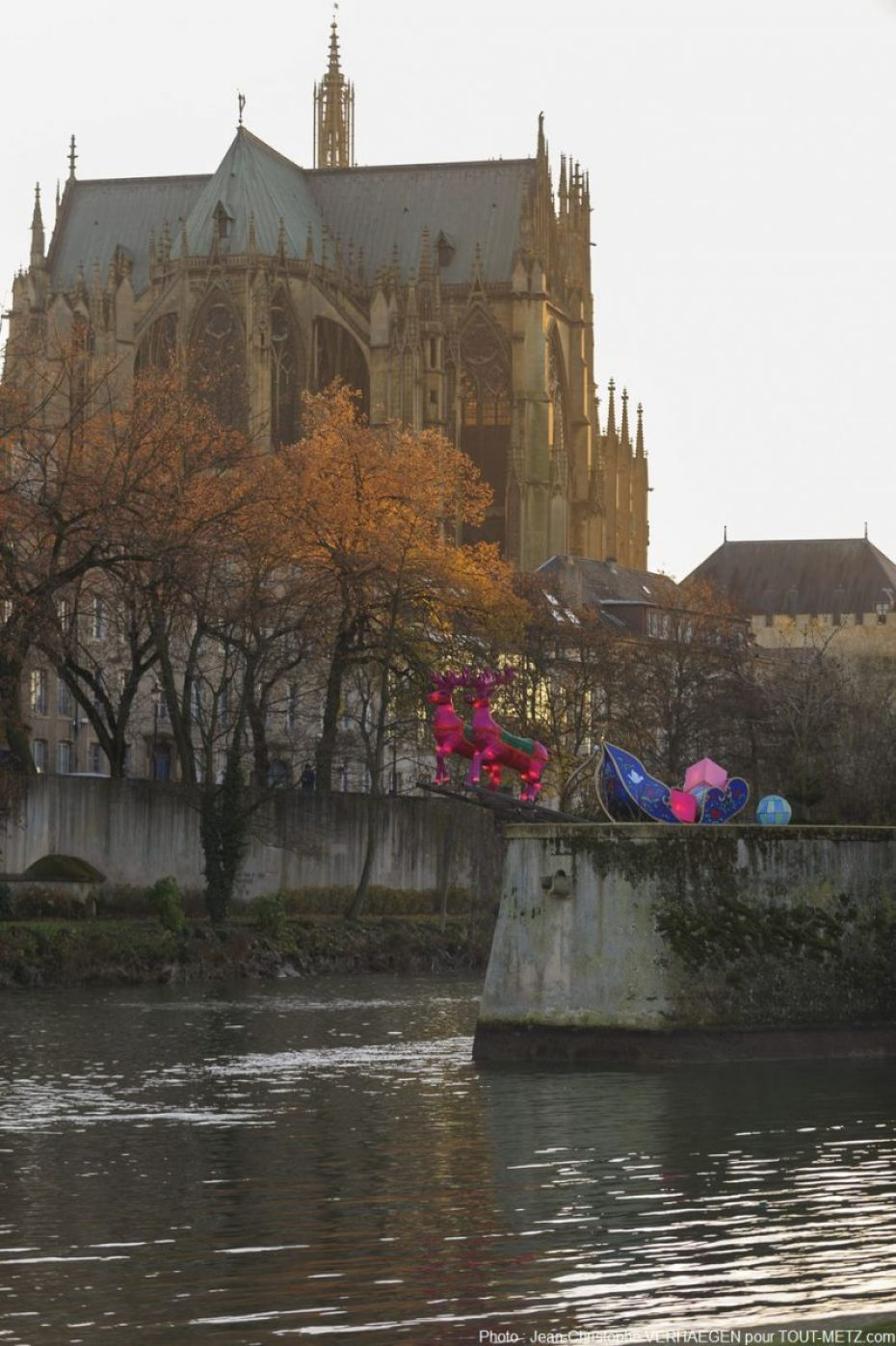 Metz : un écrin fabuleux pour un spectacle qui permet de recréer la magie de Noël.