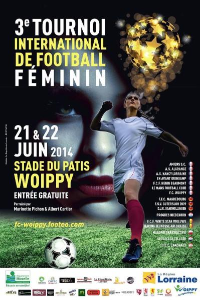tournoi féminin FC Woippy