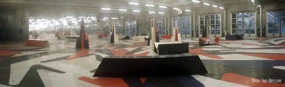 La salle de 900m² de TCRM Blida à Metz où va se dérouler le Hackathon GEN Lorraine.