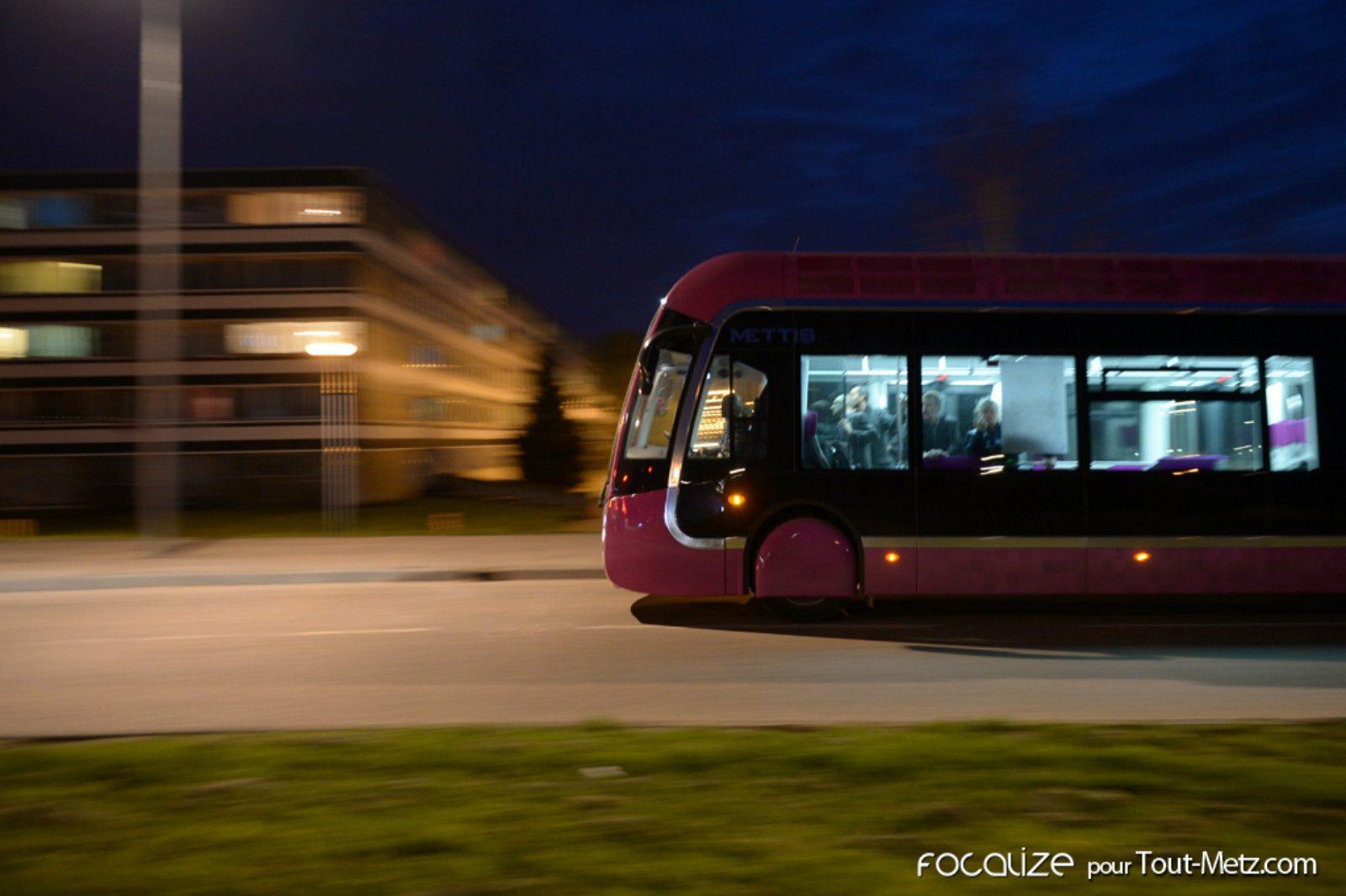 Metz : un mineur met le feu dans un Mettis, aucun passager n'a été blessé
