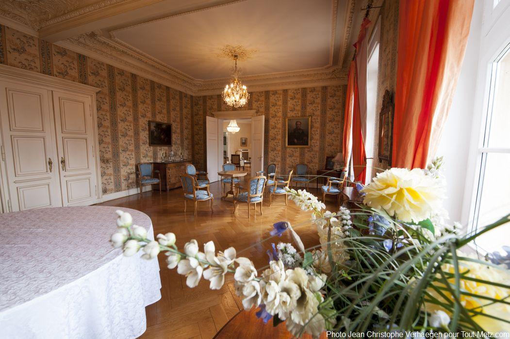 tapisserie d'époque au palais du gouverneur de Metz