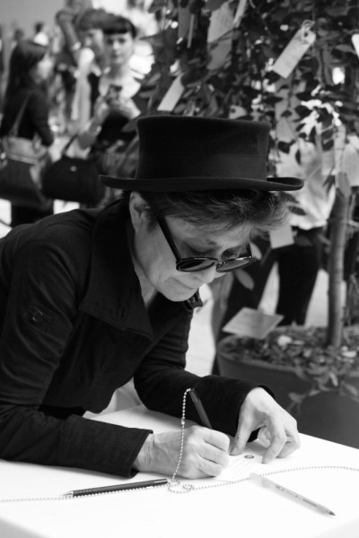 Yoko Ono, Wish Tree Museum of Modern Art, New York, 2010 Photo by Anne Terada / Courtesy of Yoko Ono