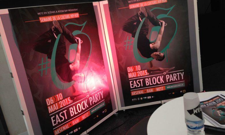 Photo of East Block Party : la culture hip-hop squatte Metz