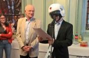 Le musicien Messin Cascadeur reçoit la médaille de la Ville