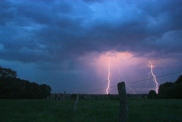 Lorraine : alerte orange aux orages et vents violents jusqu'à 100 km/h