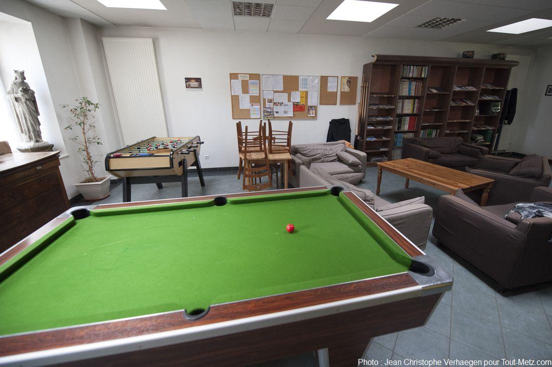salle de repos des séminariste le foyer