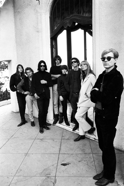 Steve Schapiro, Andy Warhol et le Velvet Underground, Los Angeles, Californie, 1966 // © The Andy Warhol Foundation for the Visual Arts, Inc. / ADAGP, Paris 2015