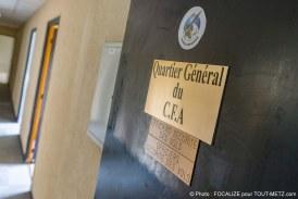 Photo reportage. Inédit, dans les bâtiments militaires clos de la BA 128