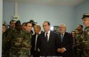 Montigny-les-Metz : François Hollande inaugure le Service Militaire Volontaire (photos)