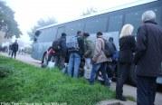 Arrivée des réfugiés de Calais à Arry (audio + vidéo)
