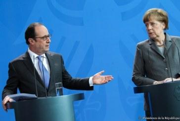 Merkel et Hollande à Metz en avril 2016 pour le prochain conseil des ministres franco-allemands