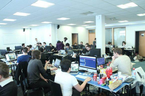 La dernière Global Game Jam à Epitech Nancy en 2015