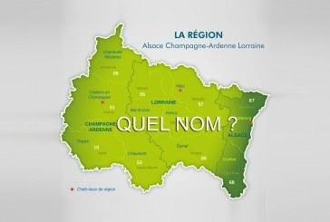 Et le nom de la nouvelle région Alsace Champagne Ardenne Lorraine est…