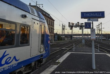 Accident de personne en gare de Thionville : aucun train pendant 2h ce lundi matin