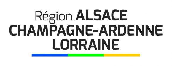 Le logo temporaire de la nouvelle région Grand Est, en attendant la validation définitive par le gouvernement.