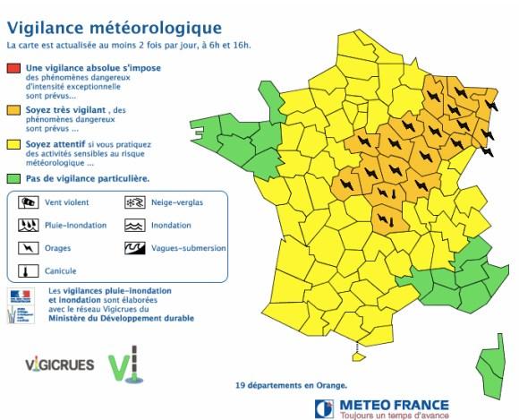 Source : Météo France