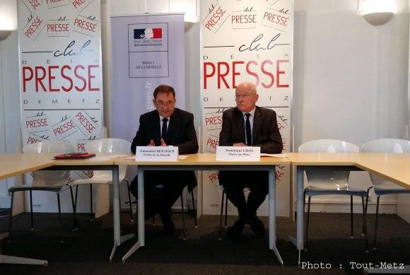 Le Préfet de la Moselle et le Maire de Metz annoncent le démantèlement du camp de Blida à Metz - Septembre 2016