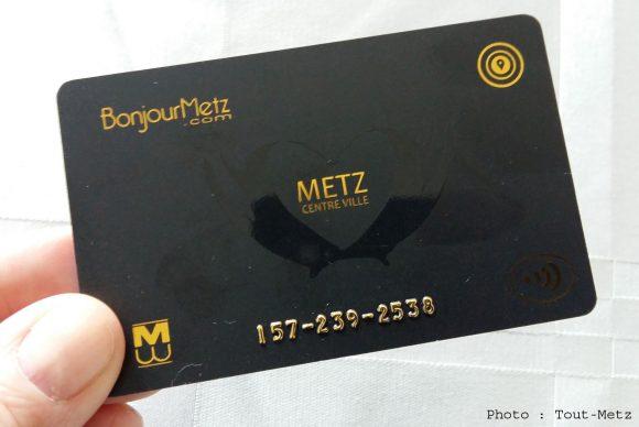 La carte Bonjour Metz disponible gratuitement dans les 165 commerces participants dès le 1er octobre