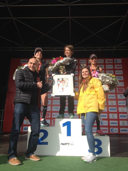 Les 3 premières féminines Marathon