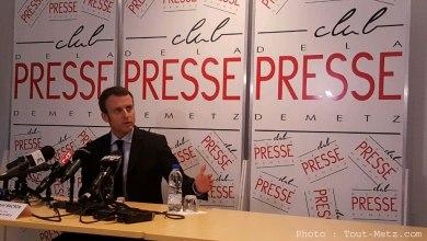 Photo of Emmanuel Macron à Forbach lundi 4 septembre pour la rentrée scolaire