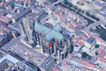 Visiter Metz en 3D avec Google Earth