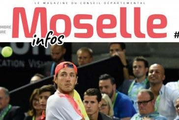 Moselle Open, numérique au collège, talents du département… toute l'actu dans le nouveau Moselle Infos