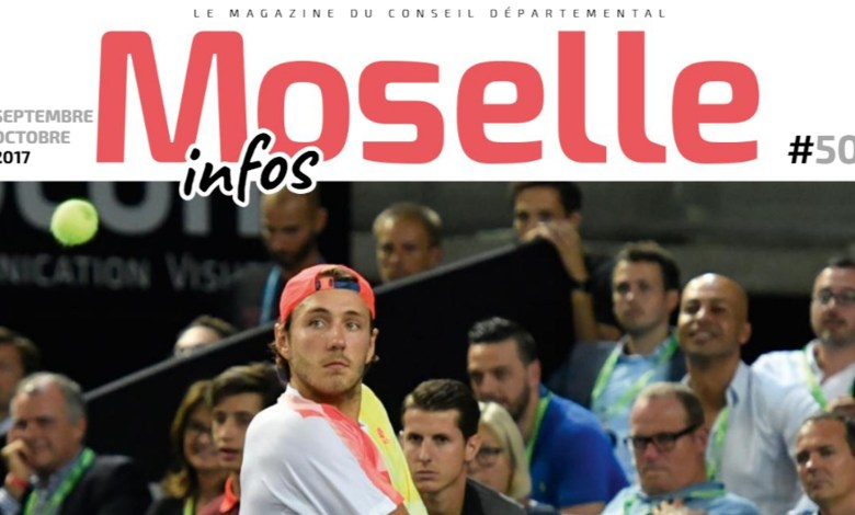 Photo of Moselle Open, numérique au collège, talents du département… toute l'actu dans le nouveau Moselle Infos