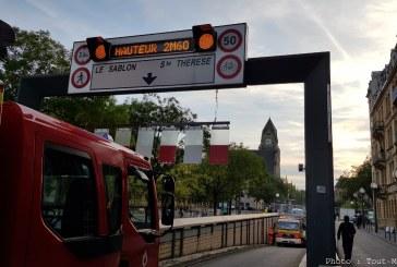 Metz : une voie du tunnel de la gare fermée