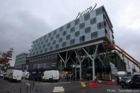 Metz : visite du nouveau centre commercial Muse (photos et vidéo)