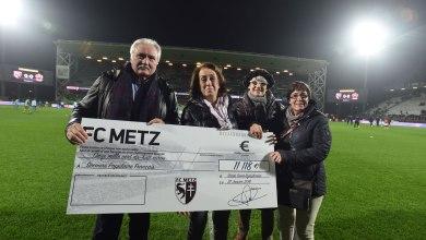 Photo of Le FC Metz remet un chèque de 11 000€ au Secours Populaire