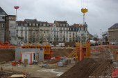 Metz : 1ère pierre du Coeur Impérial sur le site de l'hôpital Bon Secours (photos)