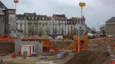 Photo of Metz : 1ère pierre du Coeur Impérial sur le site de l'hôpital Bon Secours (photos)