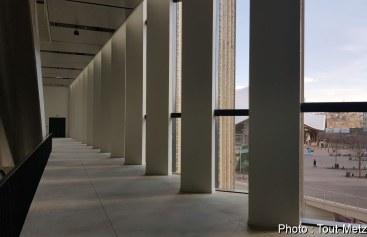 A l'intérieur du nouveau centre des congrès de Metz (gare) : reportage photo