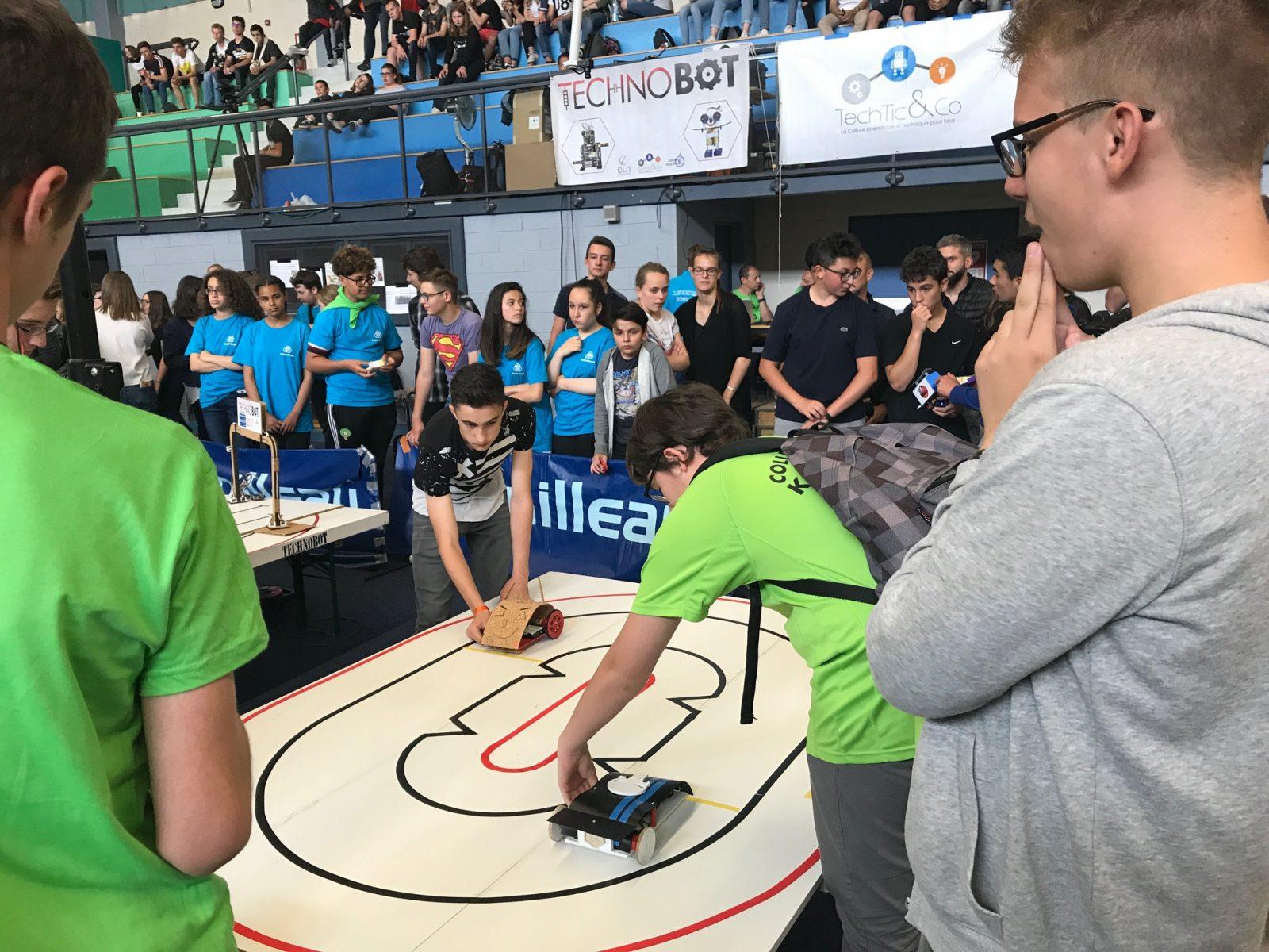 babf3588f0d Technobot 2018   7ème édition du concours de robots pour les jeunes