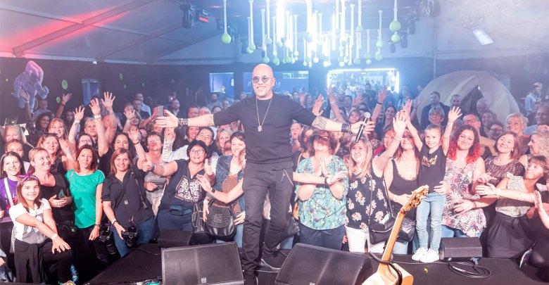 Photo of Metz : Obispo en showcase au Moselle Open (photos)
